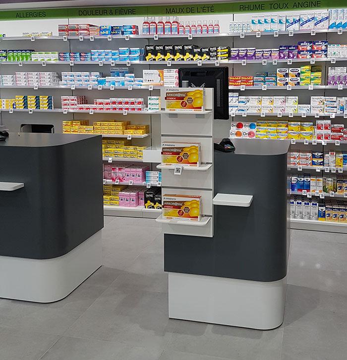 Pharmacie lepage boursin agencement - Le comptoir des pharmacies ...