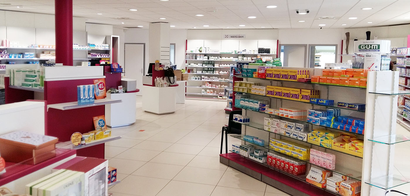 Pharmacie cabanis rodier boursin agencement for Boursin agencement