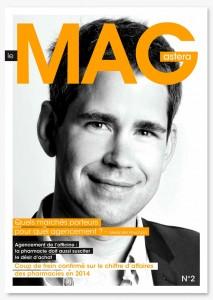 Aster Mag Article de presse BOURSIN création et réalisation d'agencement d'officine et de pharmacie