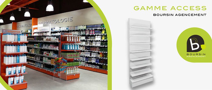 Boursin Agencement Pharmacie Mobilier Gamme Access