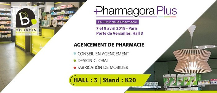 PHARMAGORA 2018 Salon de l'Agencement Pharmacie, Paris, Porte de Versailles