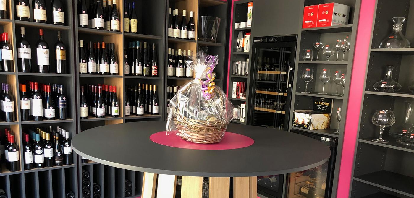 cave vin p pites de vin boursin agencement. Black Bedroom Furniture Sets. Home Design Ideas