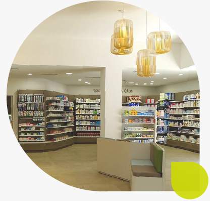 Transfert d'agencement_Pharmacie-TROUVAILLON_Normandie_Calvados_Vire