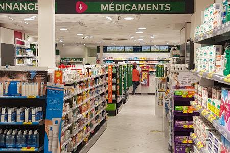 Agencement_Rénovation-Extension_Pharmacie-progrès_Béziers_UNE