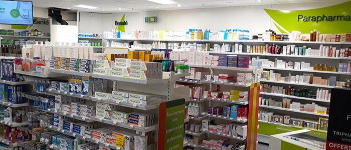 Agencement_Rénovation_Pharmacie-LGPP-Pharmavie_Poitiers_UNE