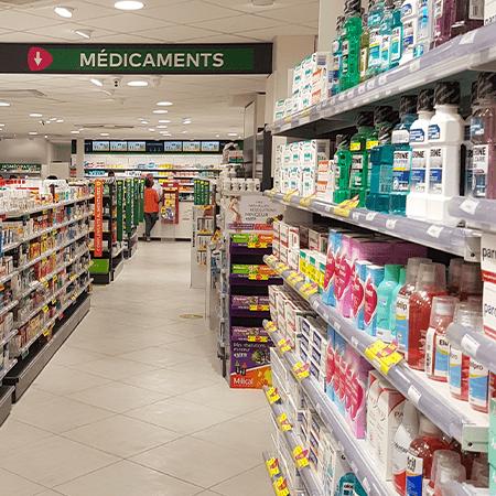 Agencement_rénovation-extension_pharmacie-progrès_hérault_béziers_UNE