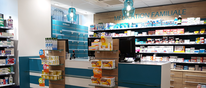 Agencement_Pharmacie-Saint-Germain_Rennes_UNE