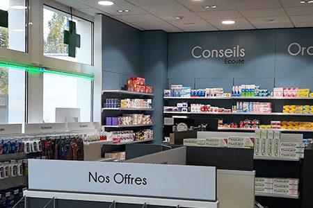 Agencement_Pharmacie-Bouquet_UNE