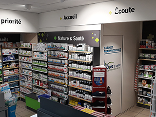 nouvel espace pharmacie zone confidentielle
