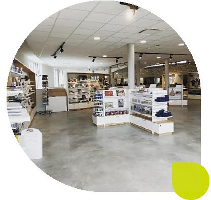 montage boutique Airborne Museum