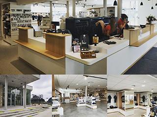 montage photo agencement boutique airborne museum