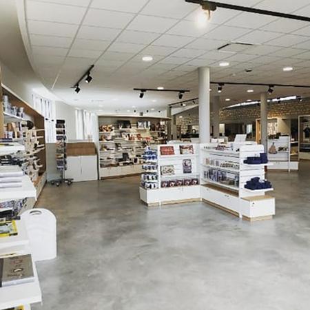 nouvel agencement boutique