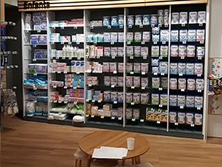 gondole pharmacie ndm