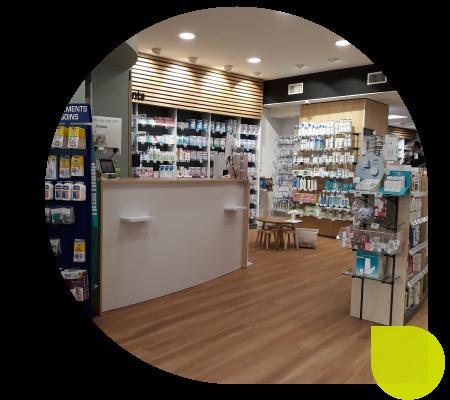 montage renovation pharmacie ndm
