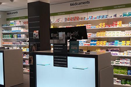 agrandissement pharmacie brest