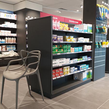 agrandissement pharmacie Guelmeur