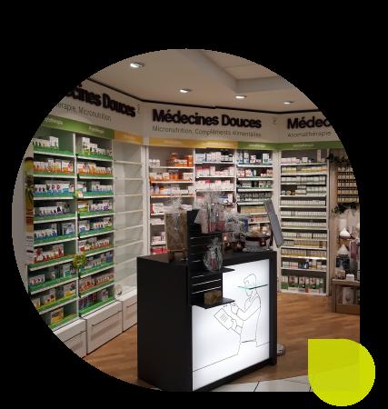 relooking espace pharmacie