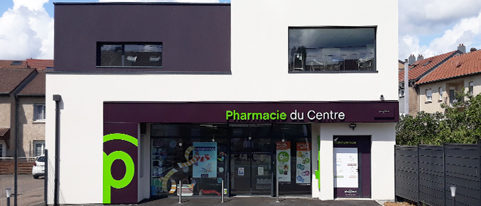agencement devanture pharmacie