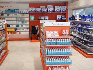agencer pharmacie gondoles