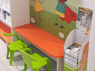 agencer pharmacie espace enfants