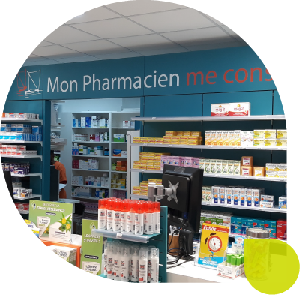 agencer pharmacie accueil