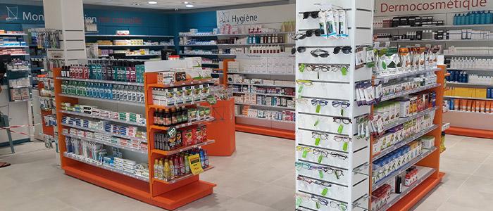 agencer pharmacie globalement