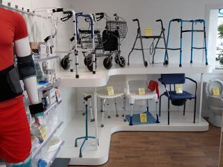 etagere materiel medical