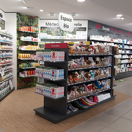 relooking pharmacie espace nature