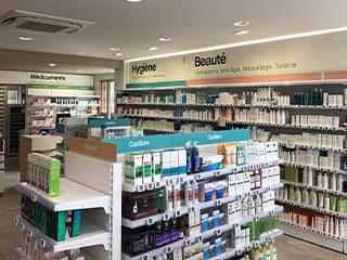 vue du dessus nouvelle pharmacie