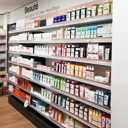 design interieur pharmacie beaute