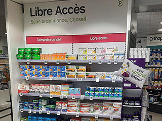 modernisation pharmacie libre acces