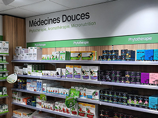 medecines douces pharmacie