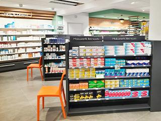 extension pharmacie