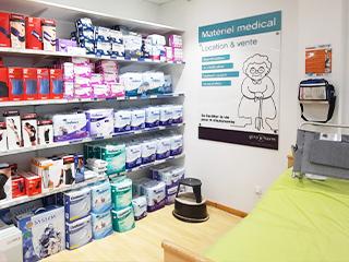 materiel medical pharmacie