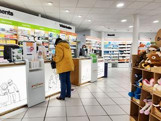 pharmacie relooking naturel comptoir