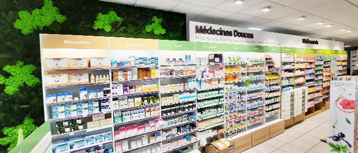 relooking naturel pharmacie mur vegetal
