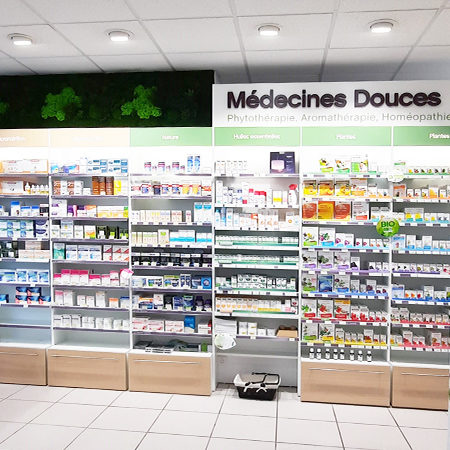 agencement naturel pharmacie medecines douces