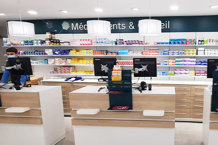 agencement pharmacie nord
