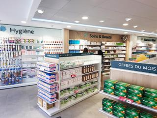 agencement despace pharmacie hygiene