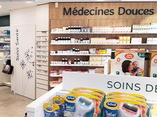 medecines douces agencement pharmacie