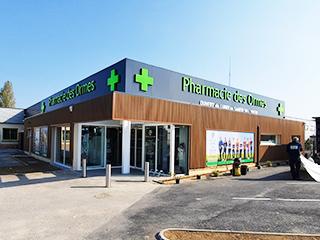 Exterieur de la pharmacie